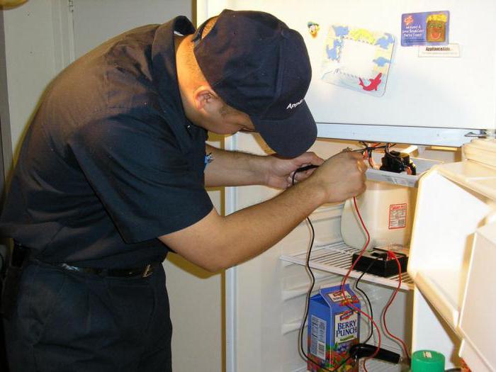 Диагностика холодильника на дому
