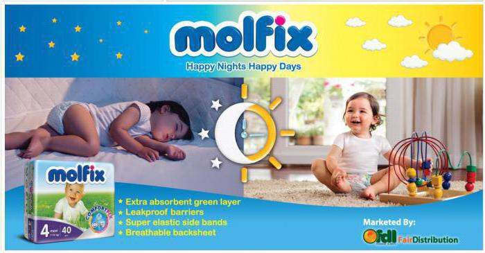 diapers molfix manufacturer
