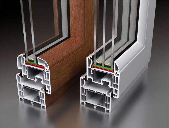 profile rating for plastic windows
