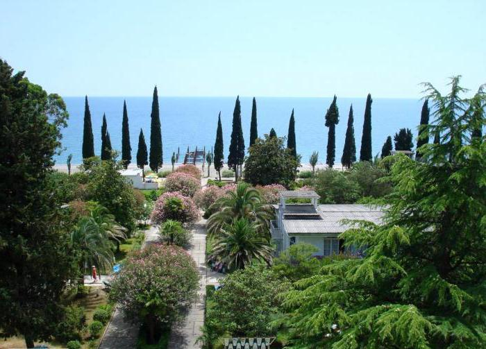 vacation in abkhazia private sector