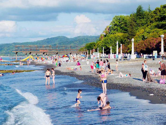 Vacation in Abkhazia in summer private sector