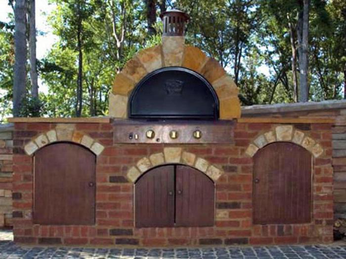 outdoor bbq oven