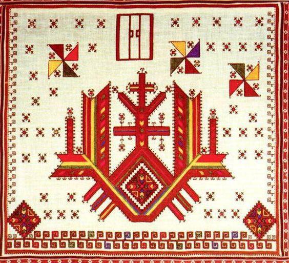 символика чувашского орнамента