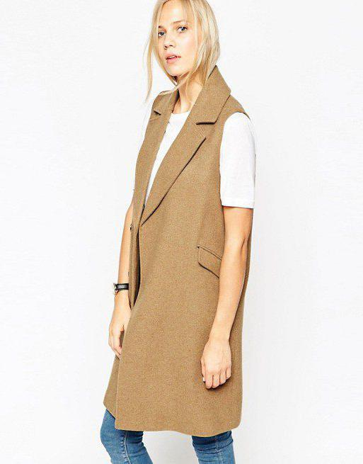 coat sleeveless pattern
