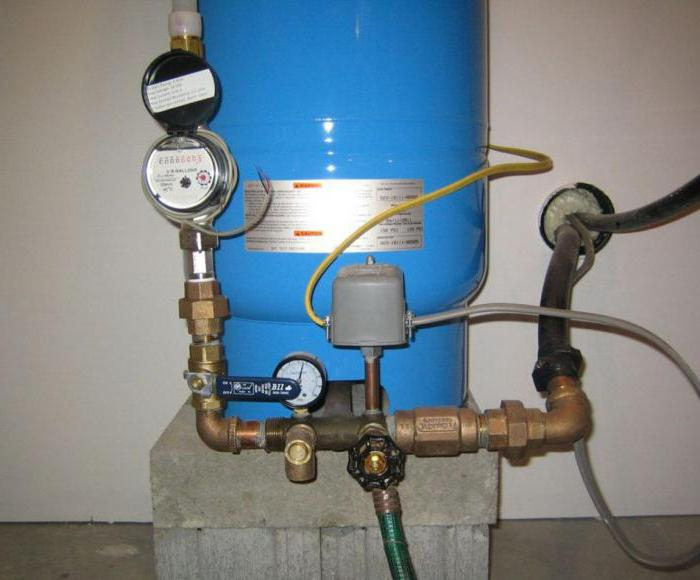 Hook up pressure switch well pump