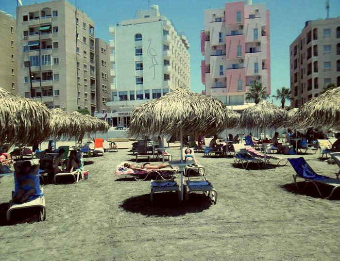 ларнака larnaca flamingo beach hotel 3