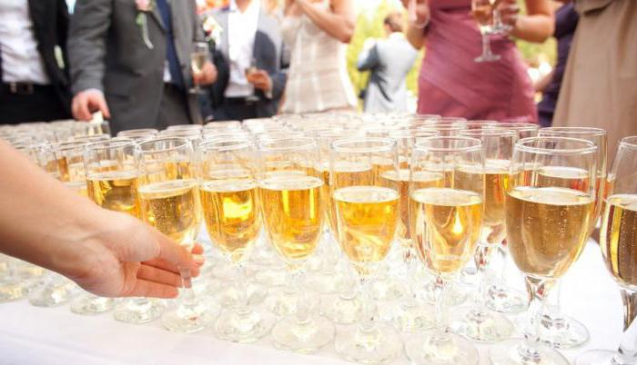 calculation of the amount of alcohol for the wedding