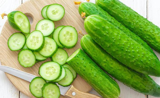 what vitamins are contained in cucumbers