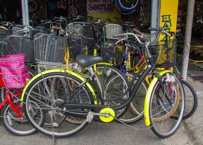 what company choose a bike for men