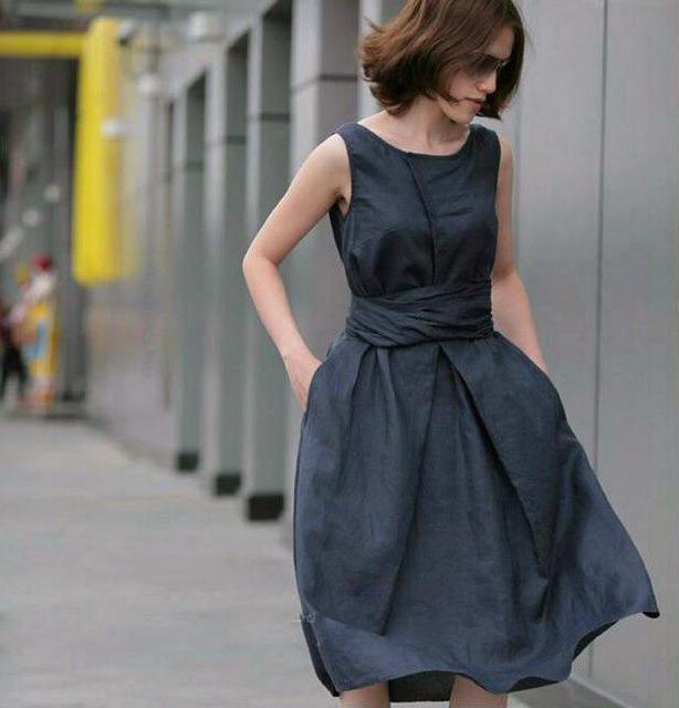 0e58c212b48c1bc Сарафан из льна: модные модели и фасоны :: SYL.ru
