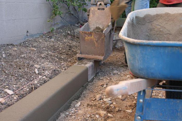 Монтаж садового бордюра своими руками
