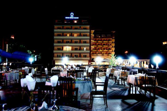 holiday garden resort hotel 5 okurcalar