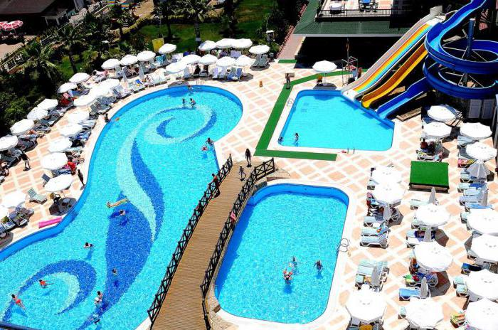 holiday garden resort hotel 5 алания