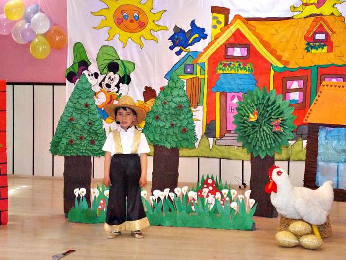 pre-school day scenario
