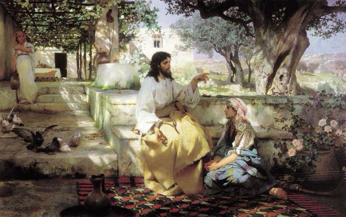 Martha and Mary pilgrim