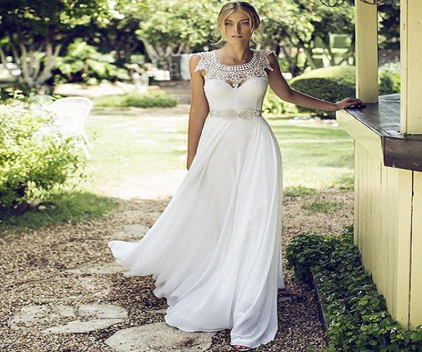 beautiful dresses in Provence style