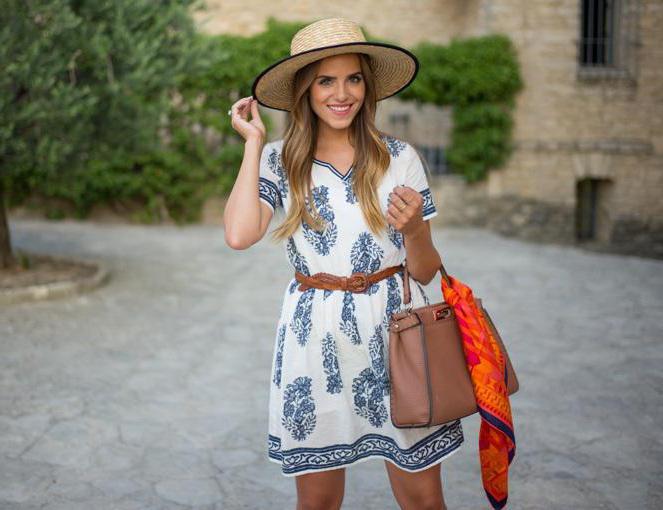 Provence style dress
