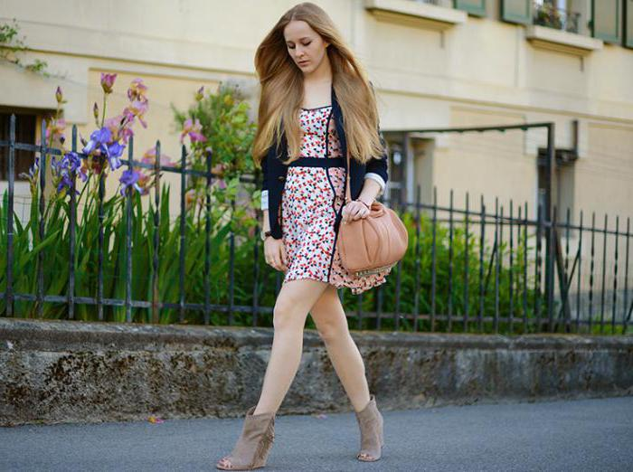 Provence style in clothes