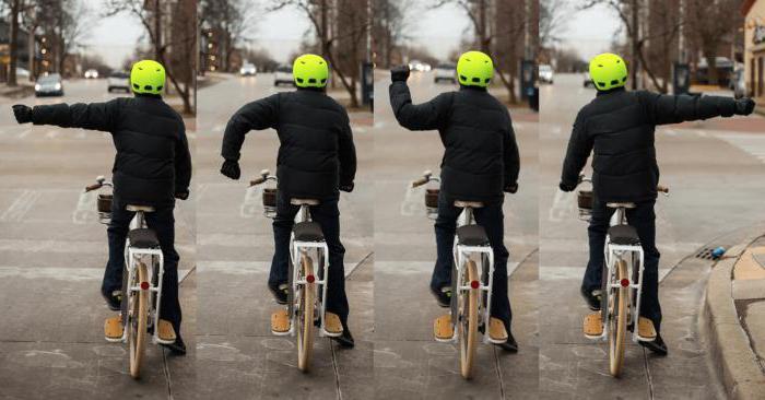 правила движения на велосипеде