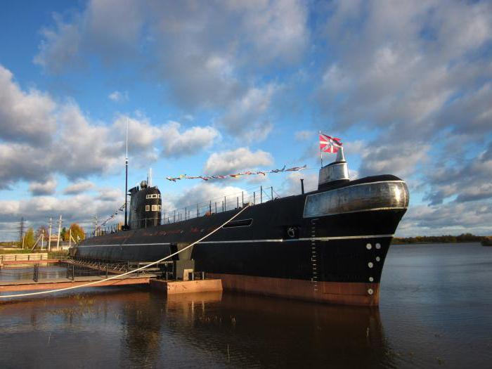 Museum of submarines in Moscow