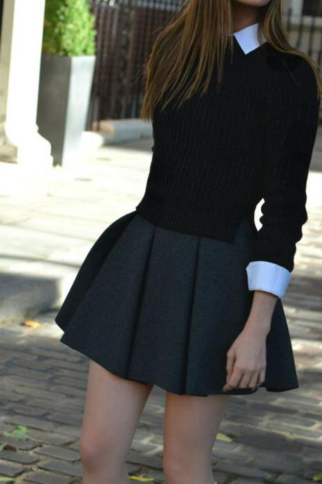 styles of school skirts for teens