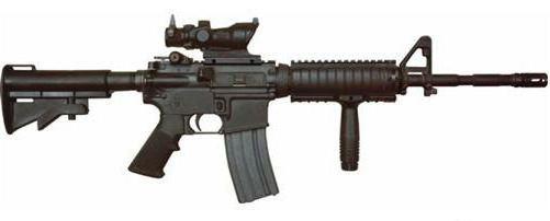 American M4 rifle