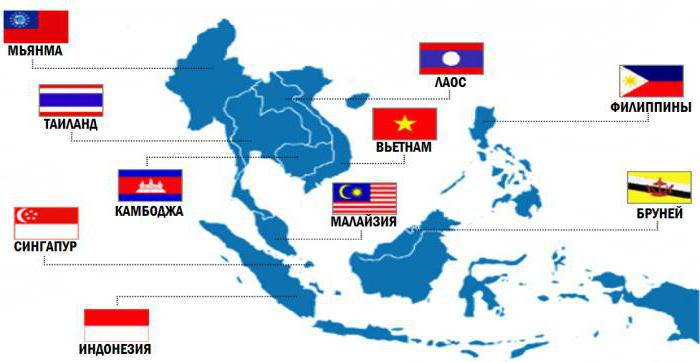 Картинки по запросу все государства АСЕАН