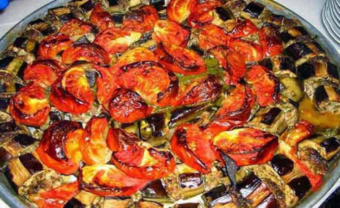 cooking eggplants in Turkish