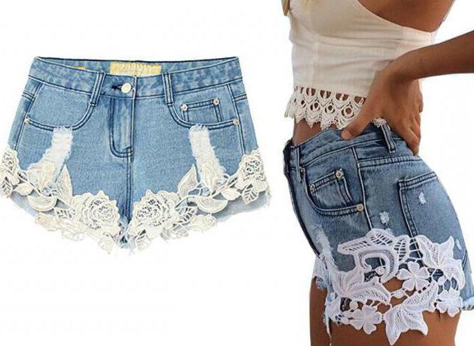 Короткие шорт из джинс своими руками 91