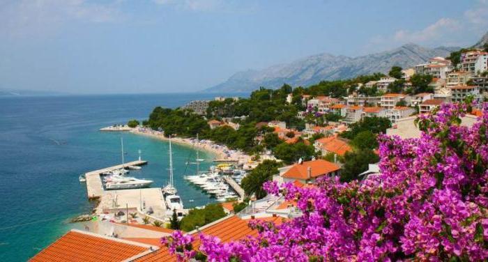 Brela City Croatia