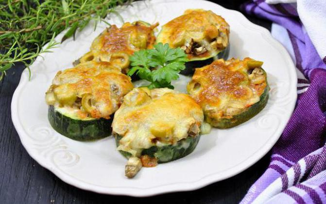 zucchini snack on the festive table best recipes