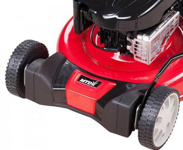 lawn mower petrol mtd