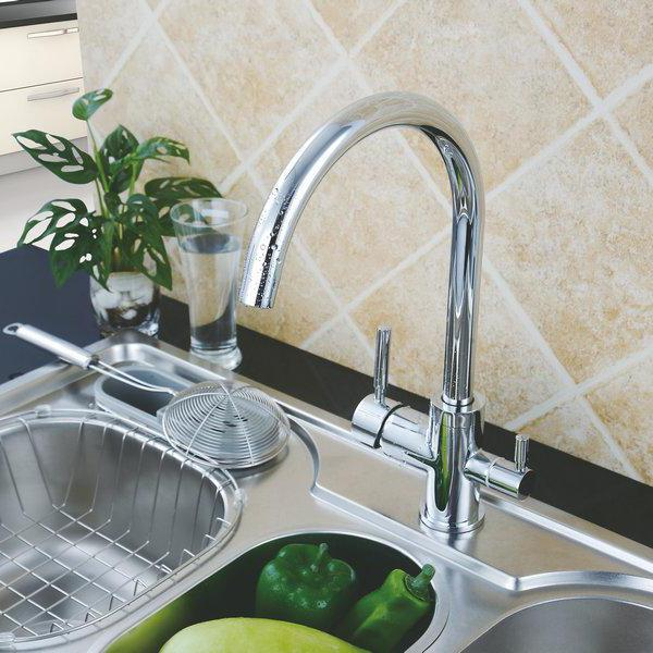 mixer with tap for drinking water filter