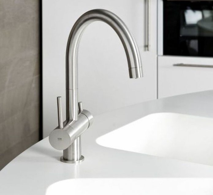 faucet for drinking water filter bronze