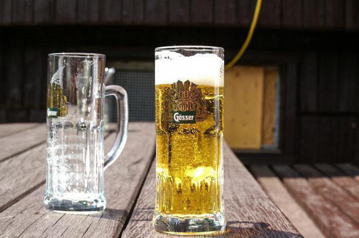 Gesser draft beer