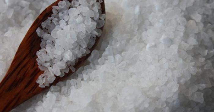солевой раствор для компресса