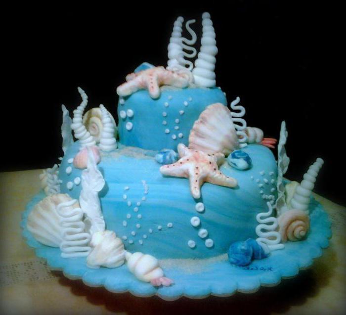день рождения в морском стиле для ребенка
