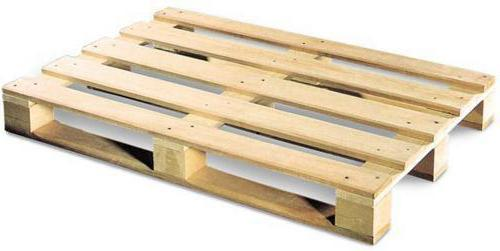 Manufacture of wooden pallets