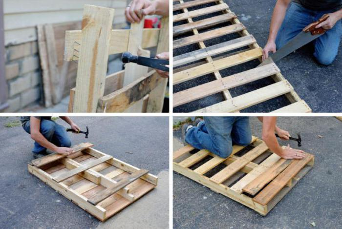 Pallet production technology