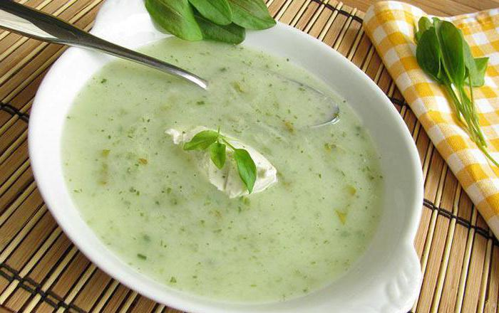суп из щавеля беременным
