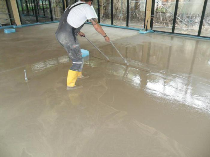 cement mortar for floor screed proportions