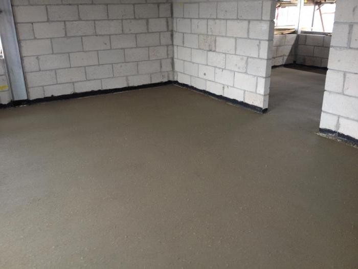 brand solution for floor screed