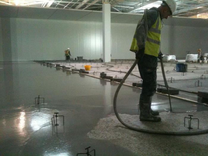 cement sand screed