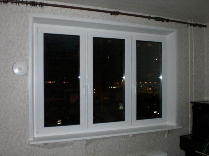 finishing of window slopes inside drywall