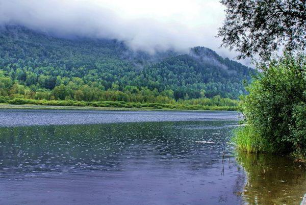 Lake Manzherok Altai Mountains