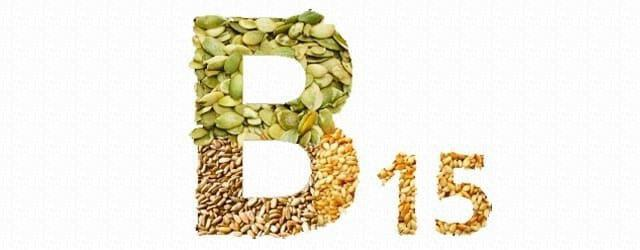 vitamin b15 in products