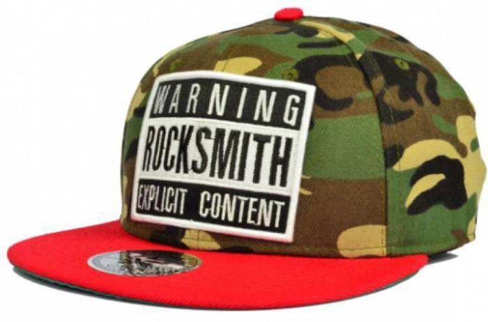 Baseball caps with straight visor