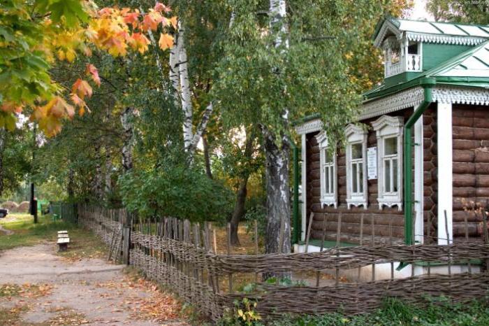 Yesenin's birthplace Konstantinovo