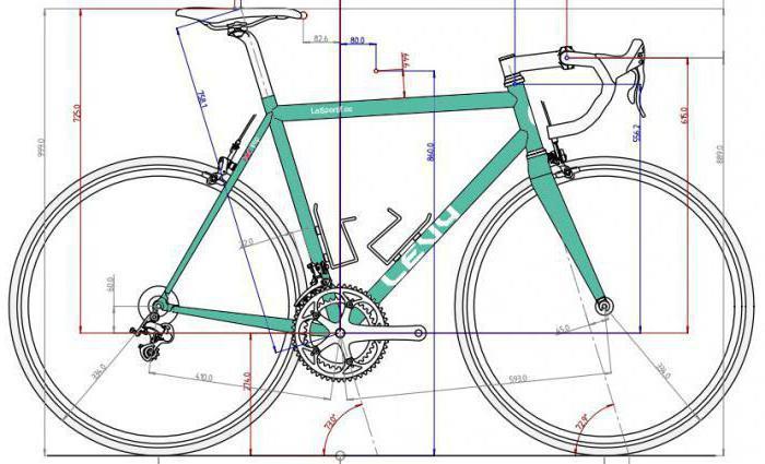 ростовки шоссейных велосипедов