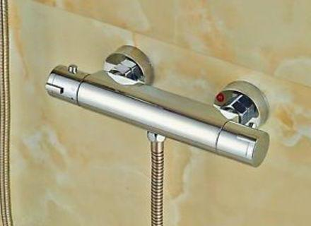 bath mixer with shower with thermostat kludi